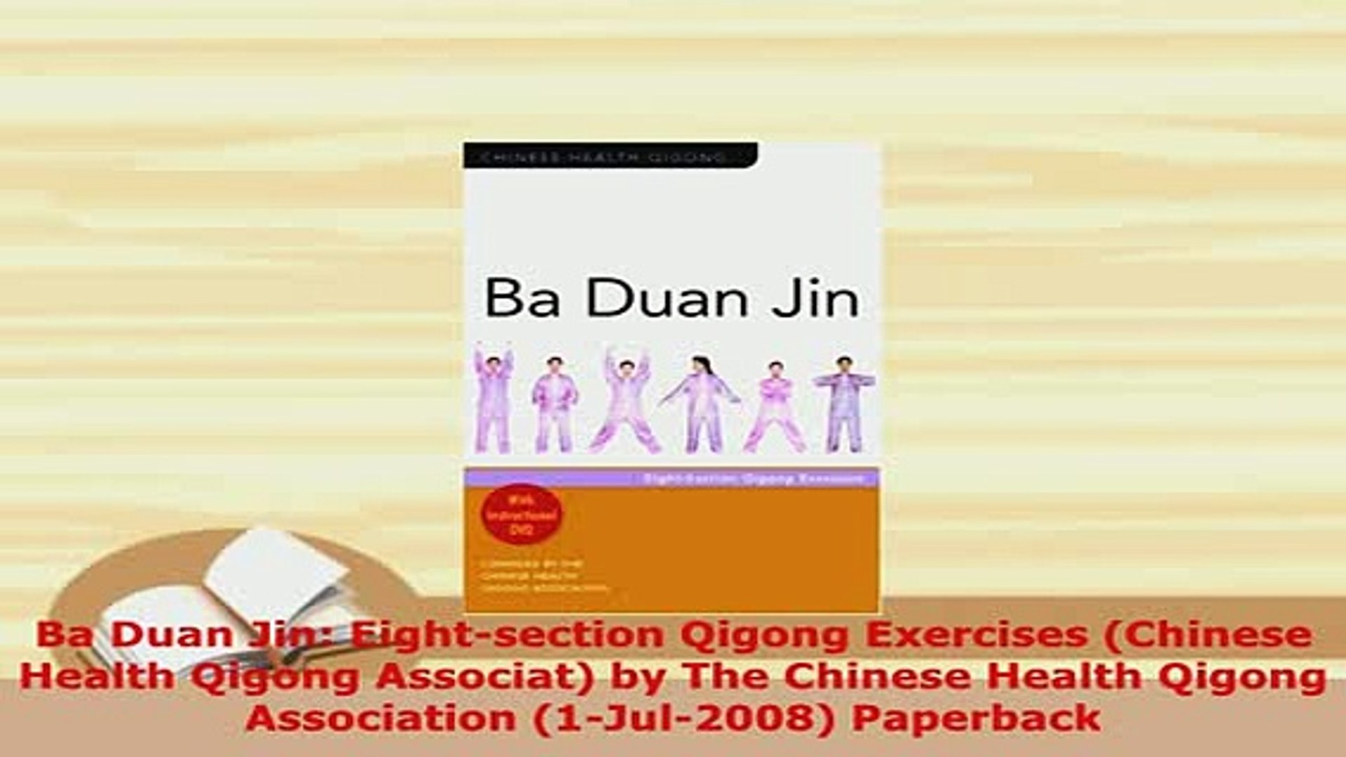 Download Ba Duan Jin Eightsection Qigong Exercises Chinese Health Qigong  Associat by The Read Online