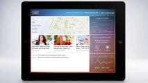 Trends Of Future Fintech Dashboards UI - Touchscreen Concept Of Digital Banking From UX Design Agency