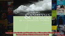 Systems Analysis and Design in a Changing World with CourseMate Printed Access Card