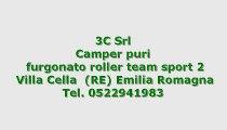 camper puro roller team furgonato roller team sport