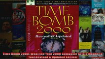 Time Bomb 2000 What the Year 2000 Computer Crisis Means to You Revised  Updated Edition