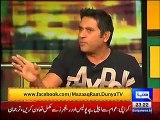 Mazaaq Raat 28 March 2016 - Zainab Abbas - Aaqib Javed - Dunya News
