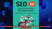 Search Engine Optimization  SEO 101 Learn the Basics of Google SEO in One Day