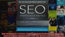 SEO Strategies  Tactics Understanding Ranking Strategies for Search Engine Optimization
