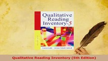PDF  Qualitative Reading Inventory 5th Edition PDF Full Ebook