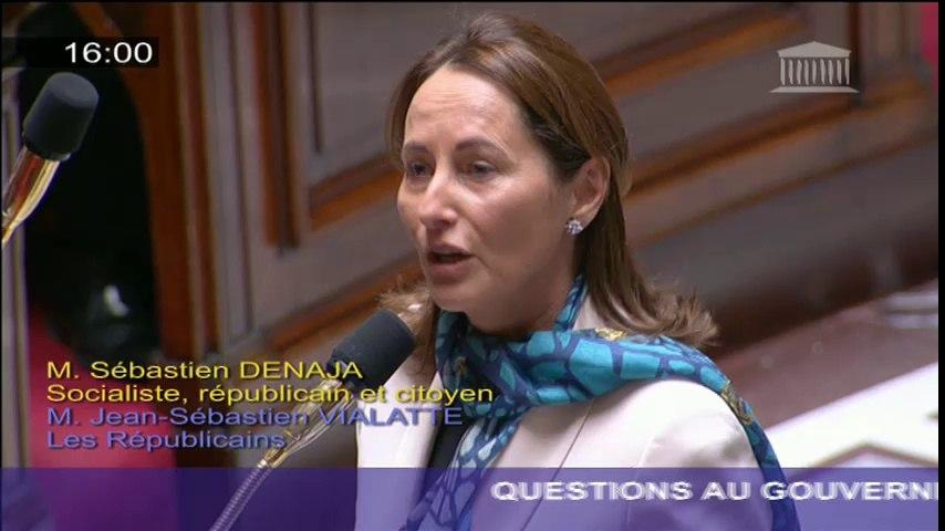 Protection de la mer : S. Royal répond à une question au Gouvernement