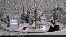 Schöne Kleine Winteranlage in Spur N.