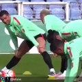 Cristiano Ronaldo seems to be enjoying the international break