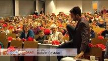 Nick van Nick en Simon promoot schaken tijdens gastles op de Kinderuniversiteit - RTV Noord