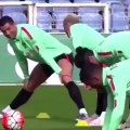 Cristiano Ronaldo Puts on a Weird Dirty Dancing Show for His Portugal Teammates in Training   90min