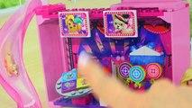 Barbie Puppy Adventure Ferris Wheel Rides Mega Bloks Playset + Lego Blind Bag - Cookieswirlc