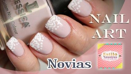Uñas para novias, Nail Art by Luli Gugli | ESTILO NOSOTRAS