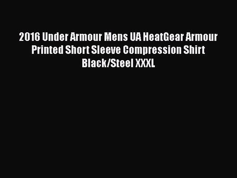 - Black L Under Armour Men/'s UA Compression Baselayer Shorts Large New