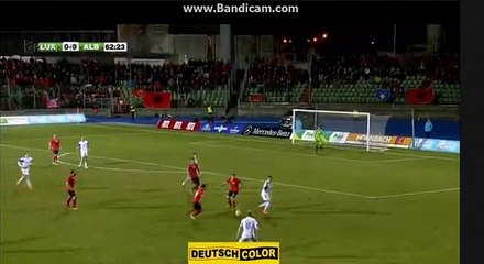 Sadiku Goal 0-1 Luxembourg vs Albania 29.03.2016
