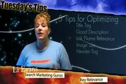 5 SEO Tips for Easy Web Site Optimization (SEO) by Liana Evans