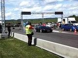 Airfieldrace Krems-Gneixendorf 2009 - Lamborghini Gallardo LP560 vs Subaru Impreza