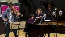 Johannes Brahms : Scherzo de la 3 ème sonate par Dana Ciocarlie et Nicolas Dautricourt | Le live de la Matinale