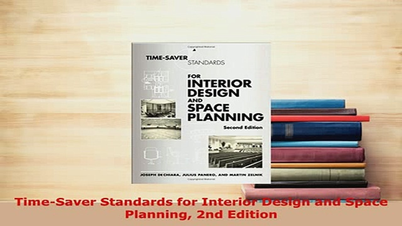 Pdf Timesaver Standards For Interior Design And Space Planning 2nd Edition Download Full Ebook Video Dailymotion