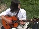 J'ai beau guitare accoustique chant