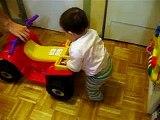 alyssa pousse son 4 roues