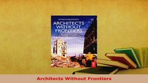 PDF  Architects Without Frontiers Ebook