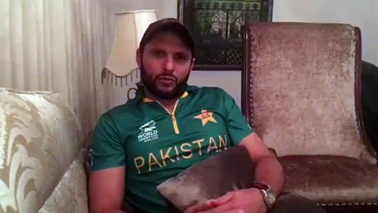Shahid Afridi apologies to fans in Video Message over World