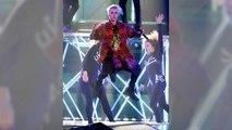 Kim Kardashian & Kanye West Dance & Sing Along To Justin Bieber At The Staples Center