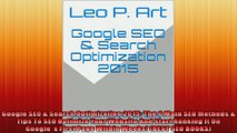 Google SEO  Search Optimization 2015 The 6 Main SEO Methods  Tips To SEO Optimize Your