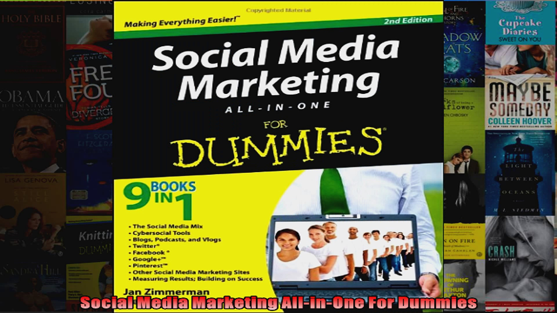 Social Media Marketing AllinOne For Dummies