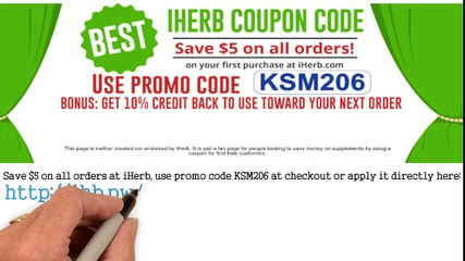 Iherb Coupon Codes 2016 Video Dailymotion