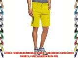 Killtec Funktionsbermudas Quetin - Pantalones cortos para hombre color amarillo talla 4XL