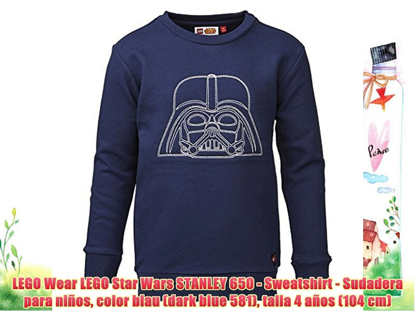 LEGO Wear LEGO Star Wars STANLEY 650 - Sweatshirt - Sudadera para niños color blau (dark blue