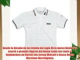 Lonsdale London Lion - Polo para hombre Blanco (weiß/bordeaux/blau) Small (Talla del fabricante: