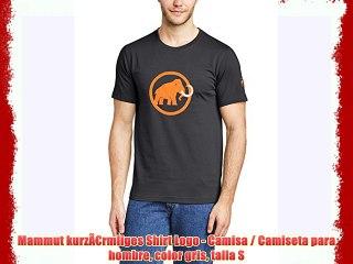 Camiseta//Camisa Deportivas para Hombre Mammut kurz/ärmliges Shirt Seile