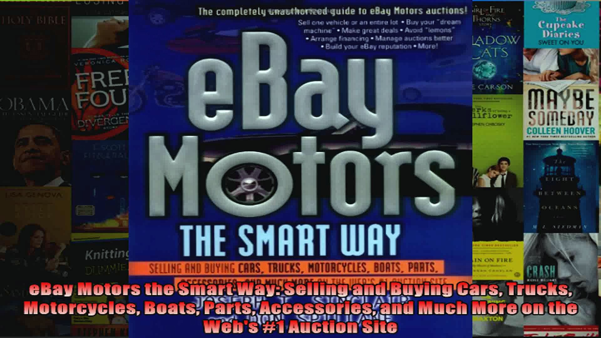 Ebay Motors The Smart Way Selling And Buying Cars Trucks Motorcycles Boats Parts Video Dailymotion