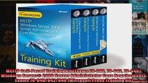 MCITP SelfPaced Training Kit Exams 70640 70642 70646 Windows Server 2008 Server