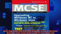 MCSE Migrating from Microsoft Windows NT 40 to Microsoft Windows 2000 Study Guide Exam