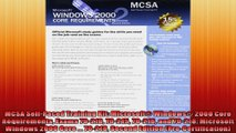 MCSA SelfPaced Training Kit Microsoft Windows 2000 Core Requirements Exams 70210