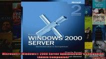 Microsoft Windows 2000 Server Administrators Companion Admin Companion
