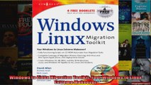 Windows to Linux Migration Toolkit Your Windows to Linux Extreme Makeover