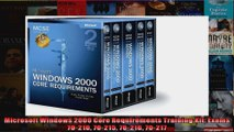 Microsoft Windows 2000 Core Requirements Training Kit Exams 70210 70215 70216 70217