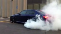 BMW M5 Amazing Burnout [E60] 2016