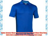 Under Armour Mens Performance 2.0 Polo Shirt Mens Blue/Grey Extra Extra Large Mens Blue/Grey