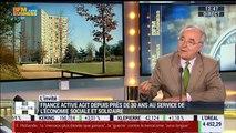 """""""France Active est un réseau qui permet de transformer les entreprenants en entrepreneurs"""", Christian Sautter – 30/03"""