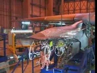 Building an A340-600 in 346 Sec [2001] CORTO