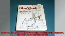 New York a LA Carte The Citys Great Restaurants Their History Anatomy and Greatest