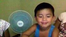 tyrone singing ''bahay kubo'' take 2(just for fun)