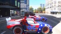 Cars Spiderman Nursery ♪ Rock-A-Bye Baby ♪ Lightning McQueen USA