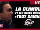 """La Clinique Feat. Les Sales Gosses """"Tout Saigne"""" en live dans Planète Rap"""