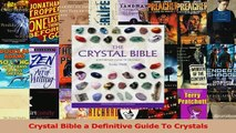 Read The Crystal Bible Ebook Free - video dailymotion